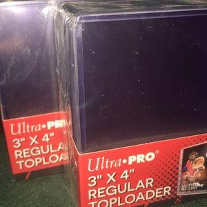 3 x 4 inch Ultra Pro Regular Toploader (sealed)